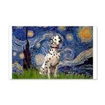 Starry /Dalmatian 20x12 Wall Decal