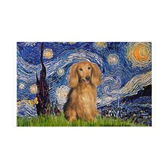 Starry / Doxie (LH-Sable) Wall Decal