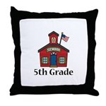 5th Grade Thank You Teacher Gift Throw Pillow