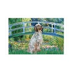 Bridge / English Setter 35x21 Wall Decal