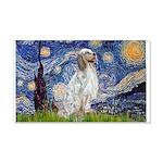 English Setter / Starry Night 20x12 Wall Decal