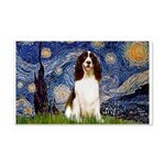 Starry Night / Eng Spring 20x12 Wall Decal