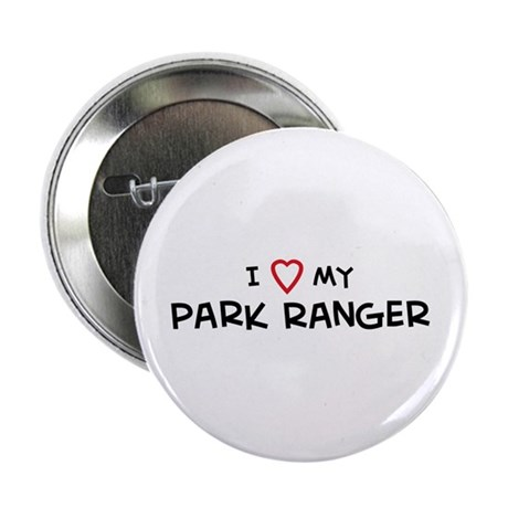 I Love Park Ranger Button