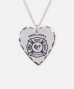 Firefighters Wife Necklace