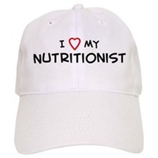 I Love Nutritionist Baseball Cap