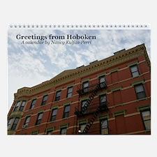 Greetings from Hoboken Wall Calendar