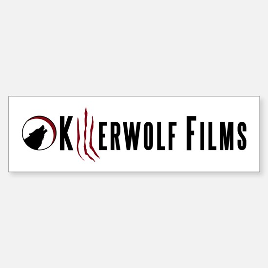 KillerWolf Films Scratches Logo Bumper Bumper Bumper Sticker