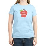 6th Grade Teacher Apple Women's Light T-Shirt