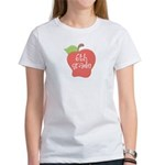 6th Grade Teacher Apple Women's T-Shirt
