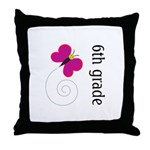 6th Grade Year End Gifts Throw Pillow