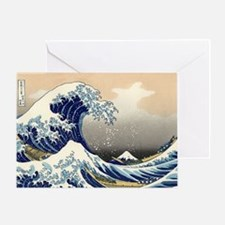 Classic Japanese Art Greeting Card