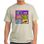 Cajun French Who Dat Light T-Shirt