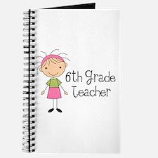 6th Grade Teacher Present Journal