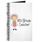 6th Grade Teacher Present Journal
