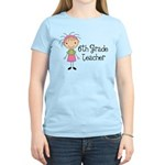 6th Grade Teacher Present Women's Light T-Shirt