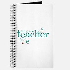 6th Grade Present Teacher Journal
