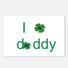 I shamrock daddy Postcards (Package of 8)