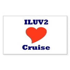 ILUV2 Cruise Decal