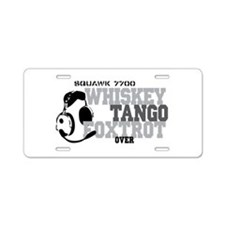 Aviation Aluminum License Plate
