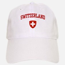 Switzerland Baseball Baseball Cap