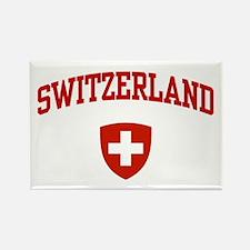 Switzerland Rectangle Magnet