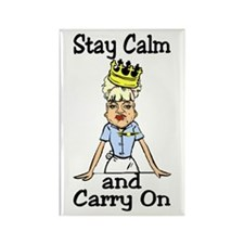 stay calm Rectangle Magnet