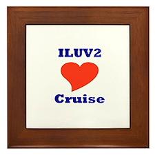 ILUV2 Cruise Framed Tile