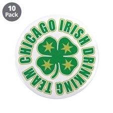 "Chicago Irish Drinking Team 3.5"" Button (10 pack)"