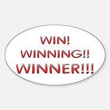 Helaine's Win Winning Winner Decal