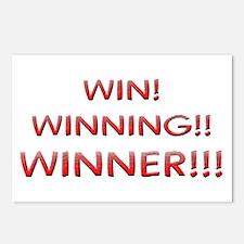 Helaine's Win Winning Winner Postcards (Package of