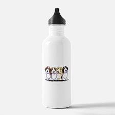 Four PBGV Water Bottle
