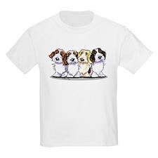 Four PBGV T-Shirt