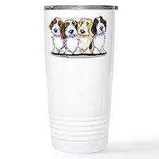 Four PBGV Travel Mug