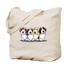 Four PBGV Tote Bag