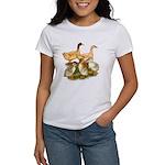 Buff Duck Family Women's T-Shirt
