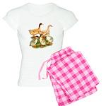 Buff Duck Family Women's Light Pajamas
