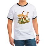 Buff Duck Family Ringer T