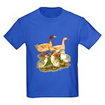 Buff Duck Family Kids Dark T-Shirt