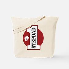 #1 Stepdad Tote Bag