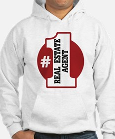 #1 Real Estate Agent Hoodie