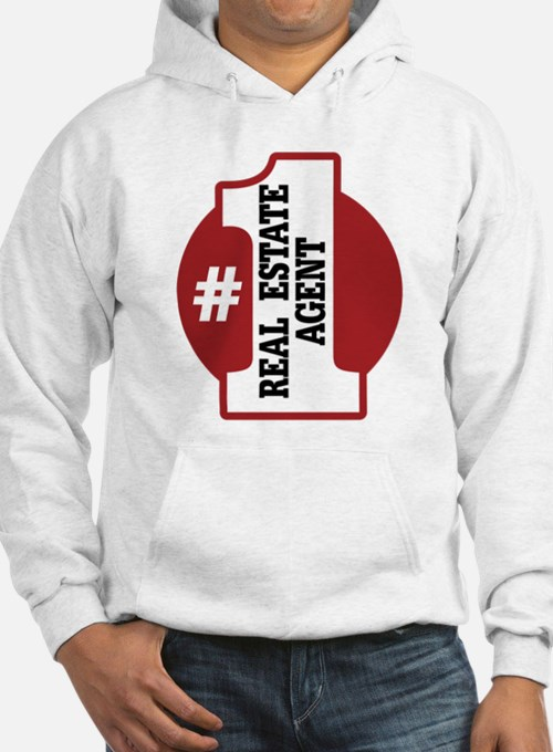 #1 Real Estate Agent Jumper Hoody