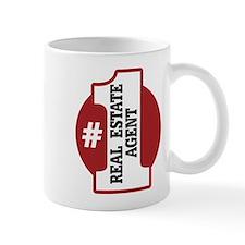 #1 Real Estate Agent Mug