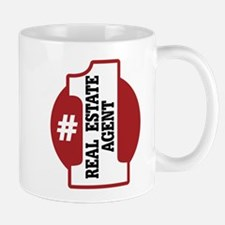 #1 Real Estate Agent Mug