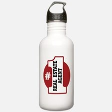 #1 Real Estate Agent Water Bottle