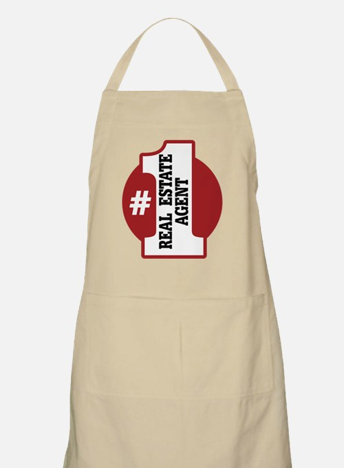 #1 Real Estate Agent Apron
