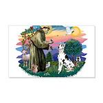 St.Francis #2/ Great Dane (H) 22x14 Wall Peel
