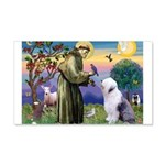 ST. FRANCIS + OES 22x14 Wall Peel