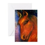 Evening Mare Greeting Cards (Pk of 10)