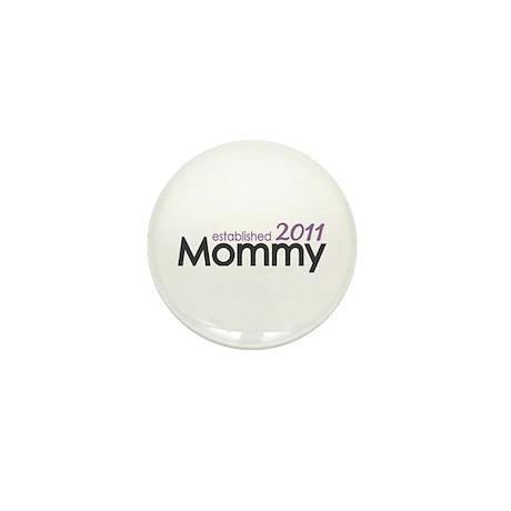 Mommy Est 2011 Mini Button (10 pack)