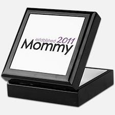 Mommy Est 2011 Keepsake Box